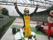 Antonio Giovinazzi (BVM Srl, F.Aci Csai Tatuus FA010-FPT #24)