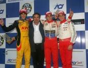 Santiago Urrutia (BVM Srl, F.Aci Csai Tatuus FA010-FPT #9); Antonio Giovinazzi (BVM Srl, F.Aci Csai Tatuus FA010-FPT #24); Nicolas Costa (Euronova R.By Fortec, F.Aci Csai Tatuus FA010-FPT #39)