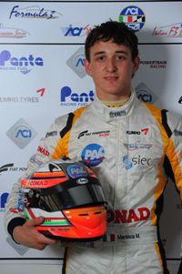 Mario Marasca (BVM Srl, Dallara F308-FPT 420 #2)